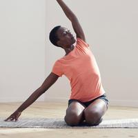 T-shirt de yoga doux en coton biologique – Femmes