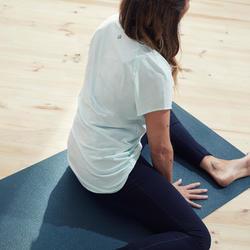 Women's Organic-Cotton Gentle Yoga T-Shirt - Green
