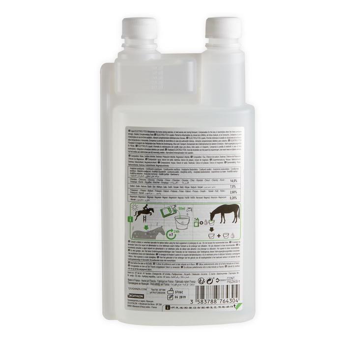 Complément alimentaire équitation cheval et poney ÉLECTROLYTES - 1L