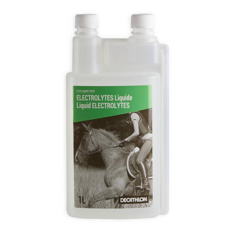DOPLŇKY STRAVY Jezdectví - DOPLNĚK STRAVY ELEKTROLYT 1L FOUGANZA - Péče o koně