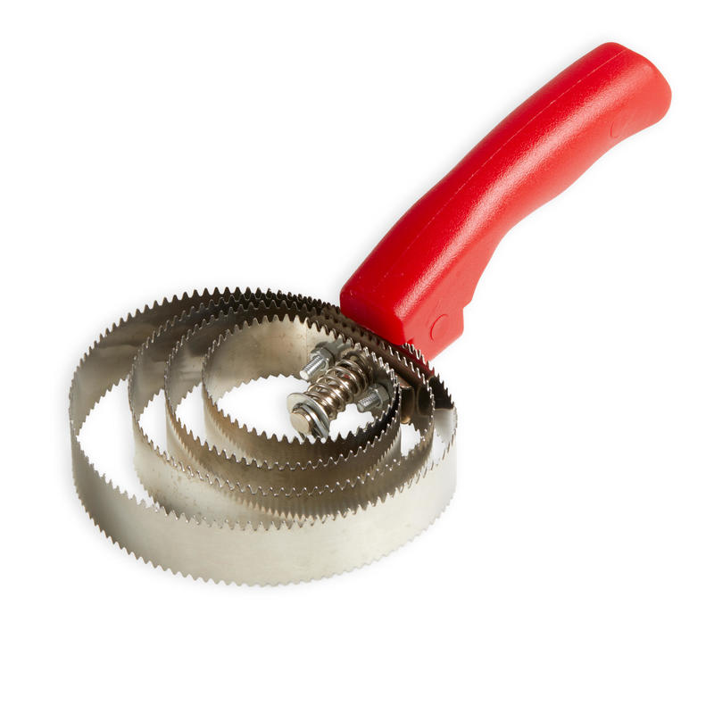 Circular Curry Comb Kerbl - Red