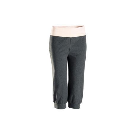 Organic Cotton Gentle Yoga Capri Bottoms – Women