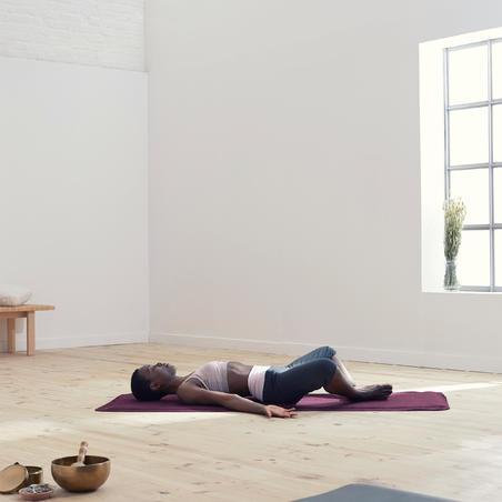 Legging capri de yoga doux en coton biologique – Femmes