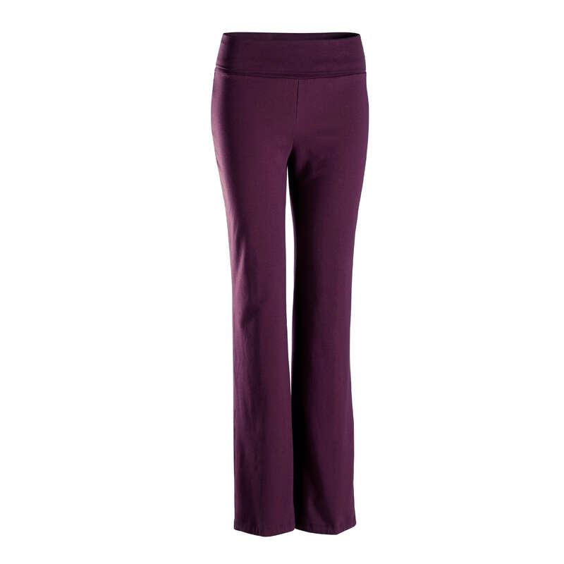 Îmbrăcăminte yoga damă Yoga - Pantalon Yoga Uşoară Damă  DOMYOS - Yoga