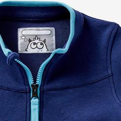 Vest voor kleutergym 500 marineblauw