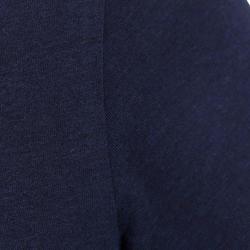 Dames T-shirt met korte mouwen voor gym en pilates, regular fit, gemêleerd - 178672