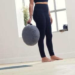 Technische legging voor zachte yoga dames zwart