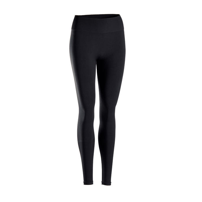 LEGGINGS LARGOS YOGA SIN COSTURAS NEGRO