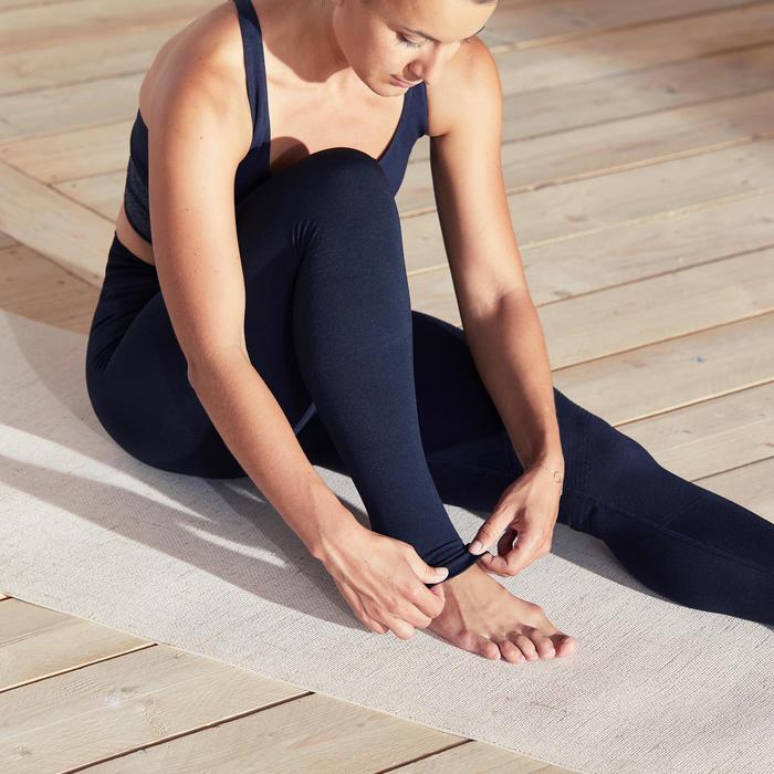 Naadloze yogalegging zwart