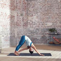 Naadloos topje voor dynamische yoga dames groen