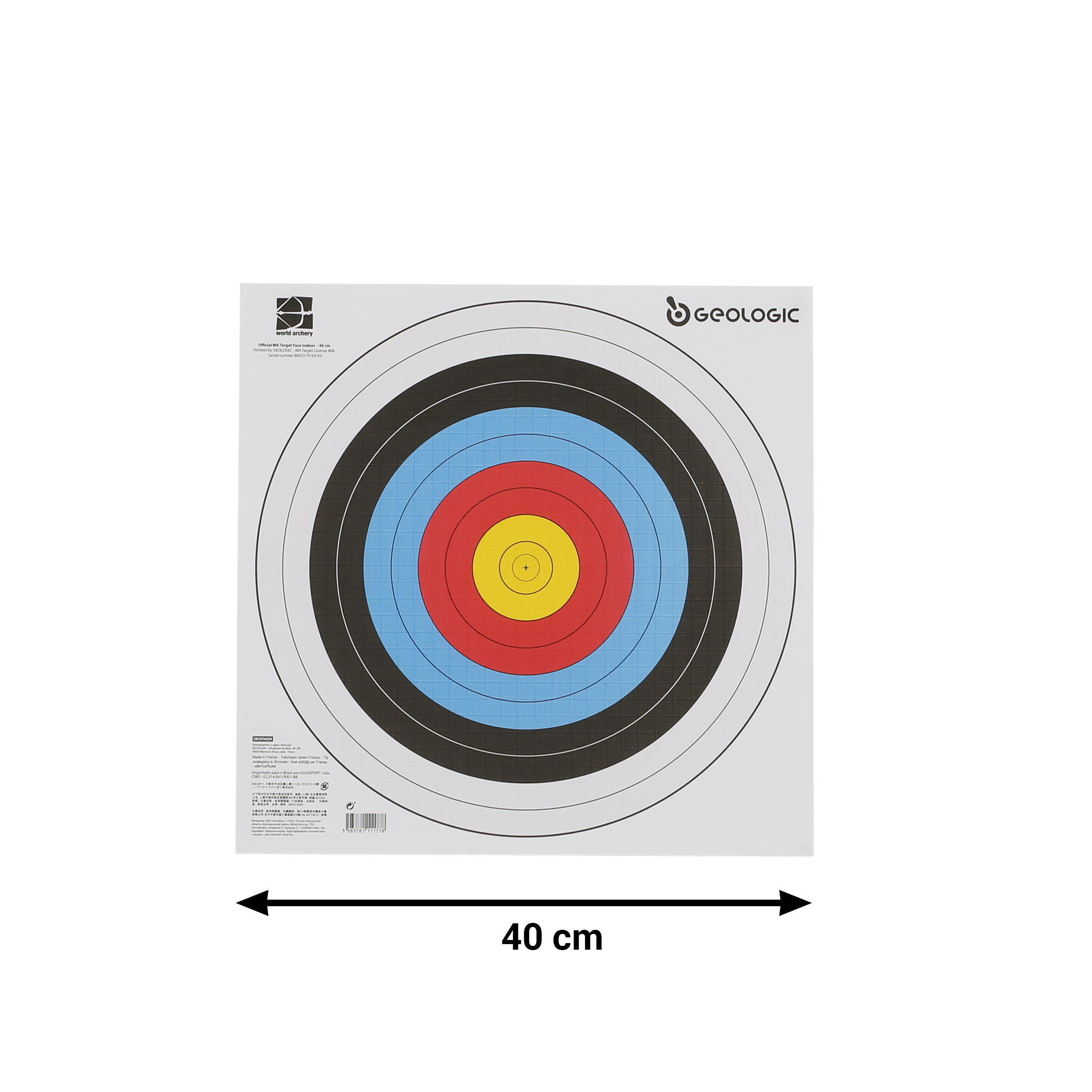 4 pack Archery Target Face Pins//Point of Aim