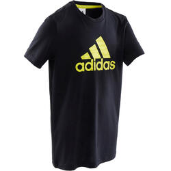 T-shirt Adidas Rapaz Preto