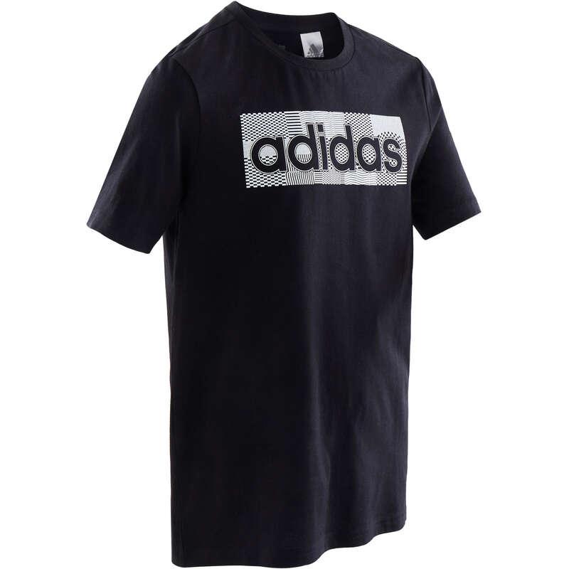 BOY EDUCATIONAL GYM APPAREL Fitness and Gym - Boys' T-Shirt - Blue ADIDAS - Gym Activewear