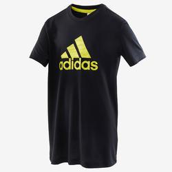 T-shirt garçon noir adidas