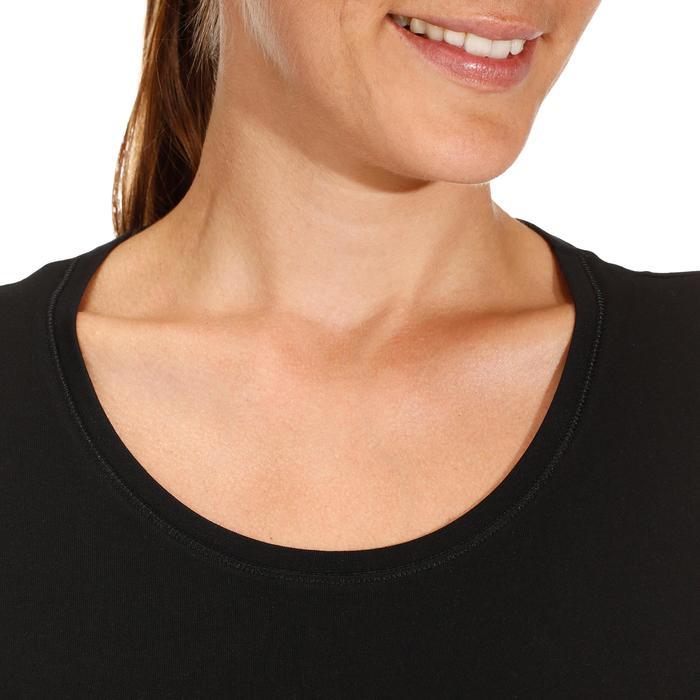 500 Women's Regular-Fit Gym T-Shirt - Black - 178694