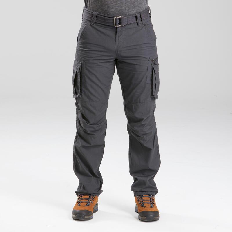 Pantalón Hombre Montaña y Trekking Cargo Travel 100