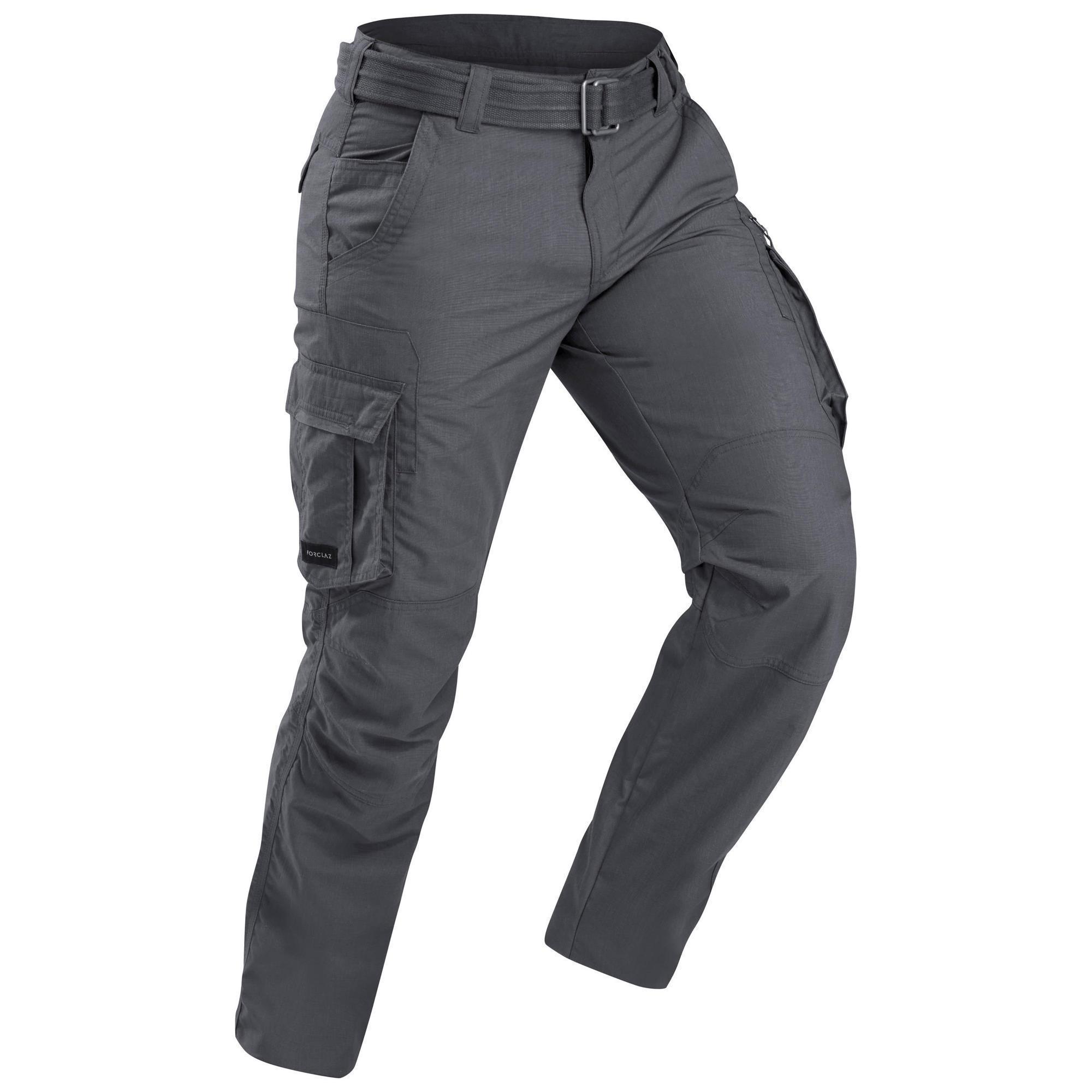 Pantalon cargo de trek voyage - TRAVEL 10