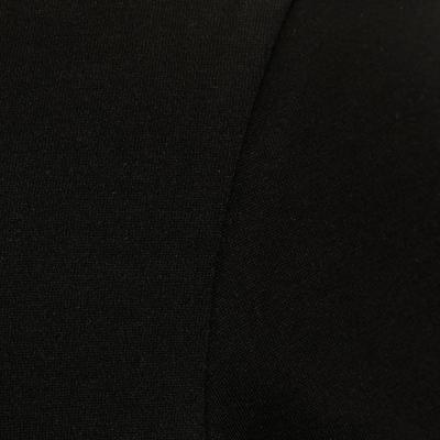 Жіноча футболка 500 Gym Stretching, прямого крою - Чорна