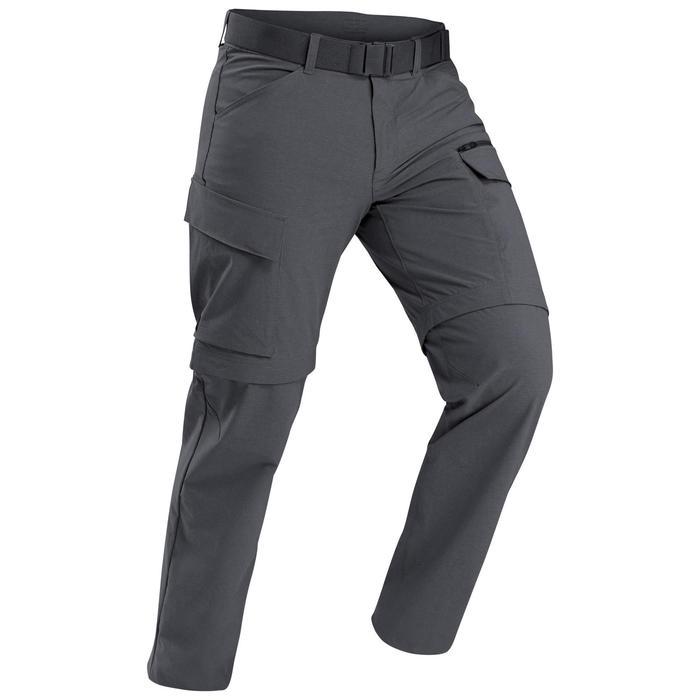 Pantalones De Montana Y Trekking Viaje De Hombre Desmontables Travel 500 Forclaz Decathlon