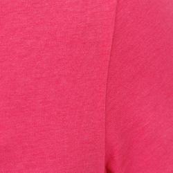 Dames T-shirt met korte mouwen voor gym en pilates, regular fit, gemêleerd - 178708