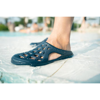Men's Pool Clogs 100 - Navy Blue