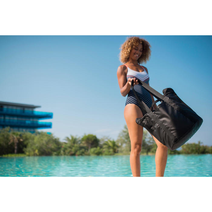 Maillot de bain de natation femme une pièce Riana Gab marine