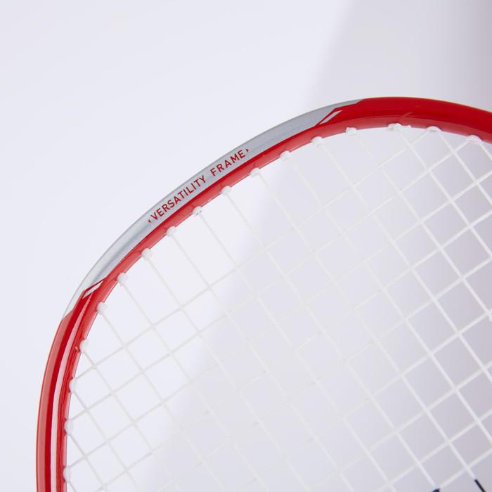 成人款羽球拍組BR 190紅色及深藍色
