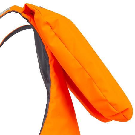Adult Foam Life Jacket LJ 100N Easy - Orange/Grey