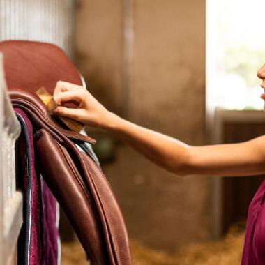 Come prendersi cura del cuoio equitazione