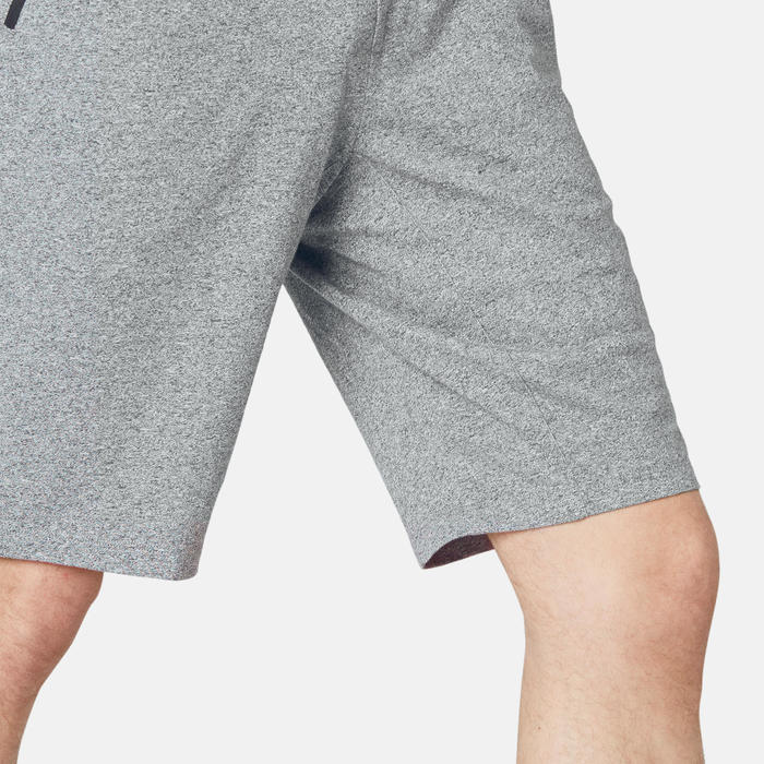 Short Sport Pilates Gym Douce homme 520 Long Slim Gris