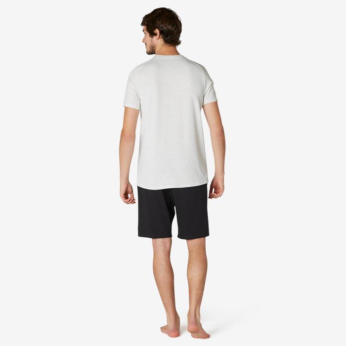 T-Shirt 520 Homme Beige Chiné