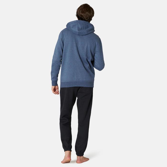 Chaqueta con capucha Training Hombre 500 azul marino