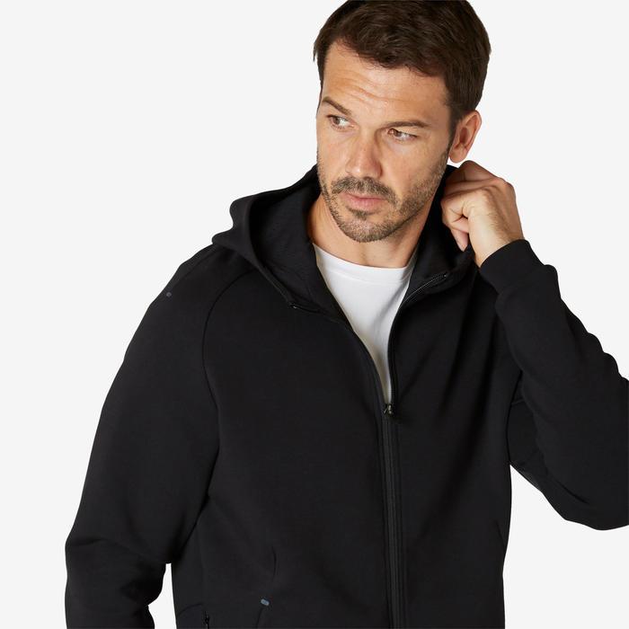 Veste à capuche zippée homme 530 spacer noir