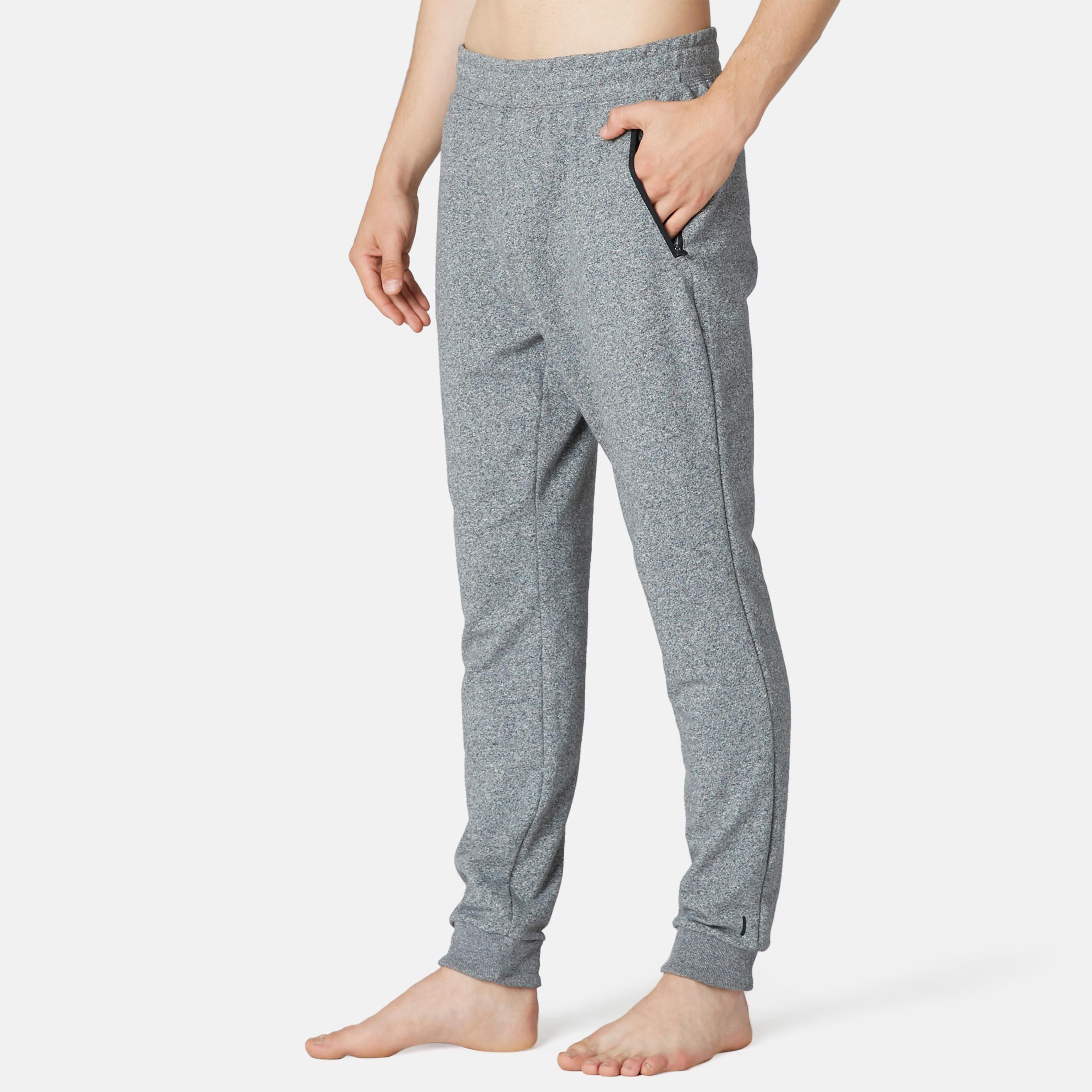 Pantalon slim 500 gri Bărbați