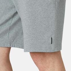 Men's Long Sport Shorts 500 - Mottled Grey