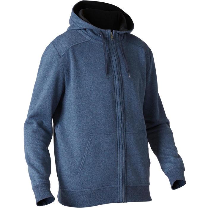 Veste à Capuche 500 Homme Bleu