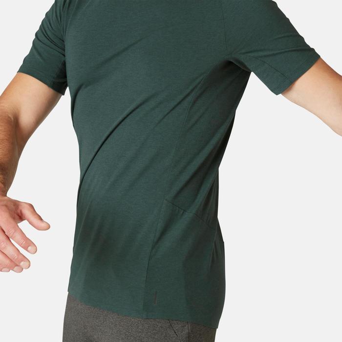 男款修身T恤900 - 深綠色