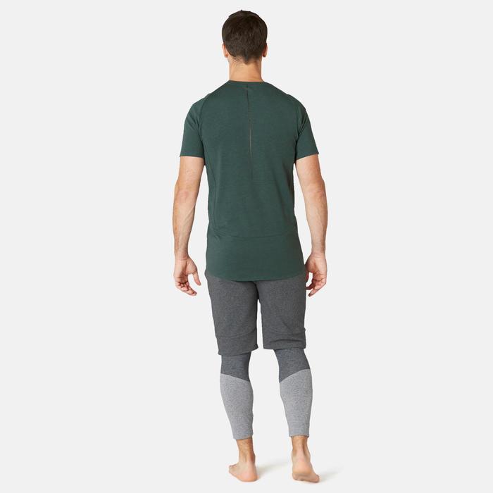 T-Shirt Slim 900 Homme Vert Foncé