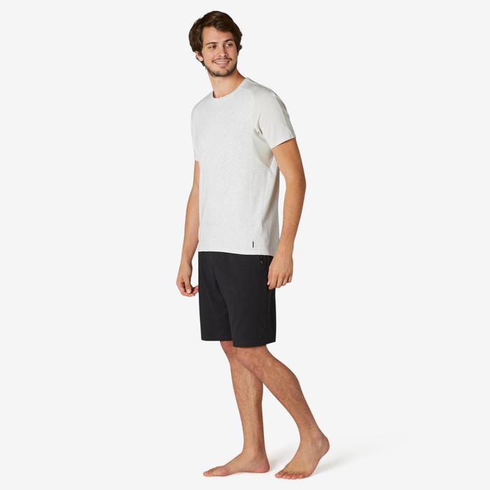T-Shirt Sport Pilates Gym Douce homme 520 Regular Beige