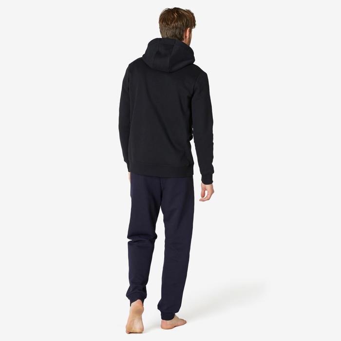 Veste à capuche homme training 500 Noir
