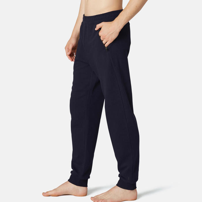 Pantalon jogging Homme Regular 500 Bleu Marine