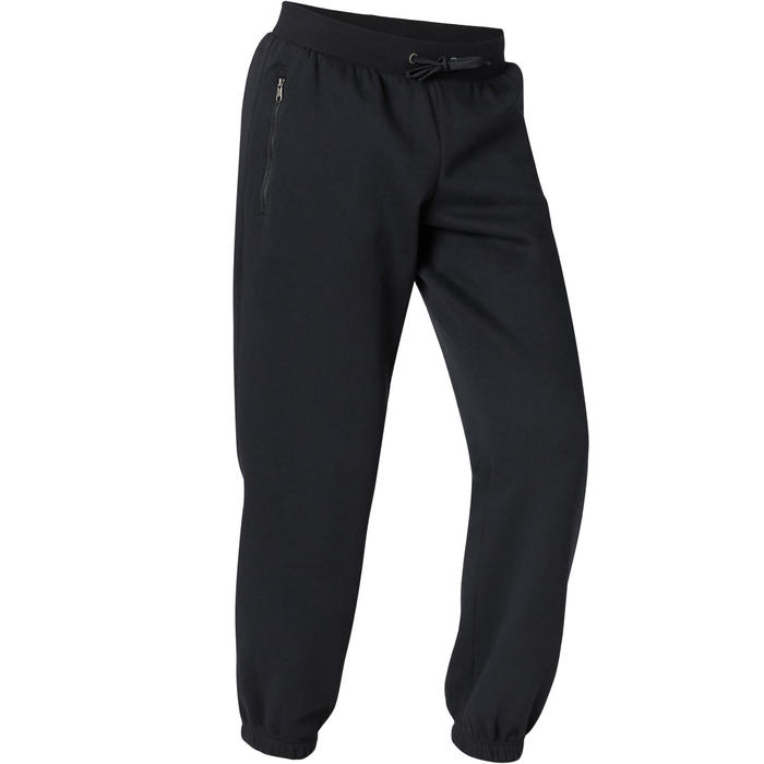 Pantalon Training Homme Regular 500 Noir