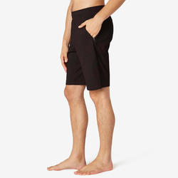 Men's Long Sport Shorts 520 - Burgundy Pattern