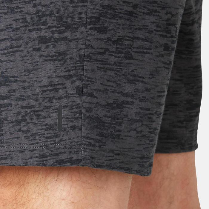 Short Sport Pilates Gym Douce homme 520 Long Regular Gris Printé