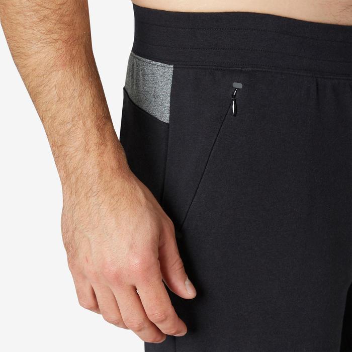 Pilates Gentle Gym Long Slim-Fit Sport Shorts 900 - Black