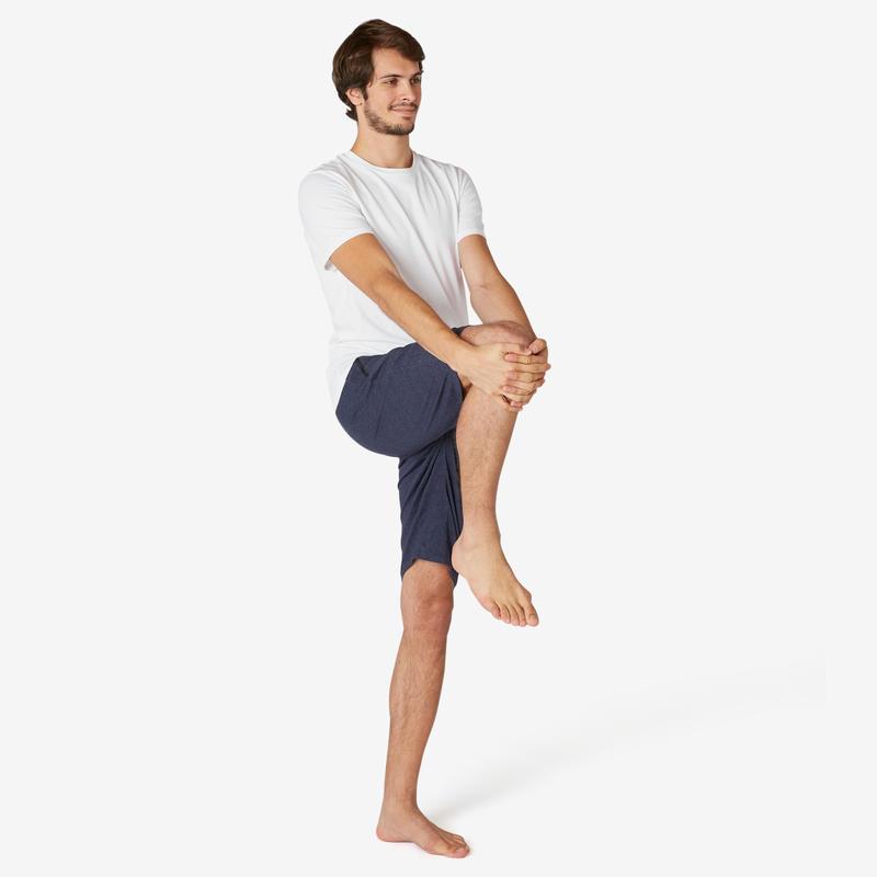 T-Shirt Coton Extensible Fitness Slim Blanc