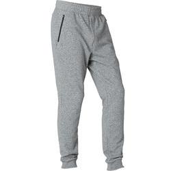 Pantalon de Jogging Slim 500 Homme Gris