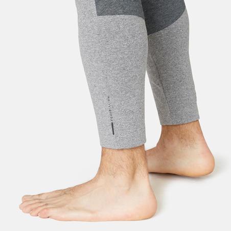 Men's Gym Leggings 900 - Light Grey