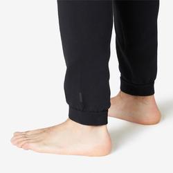 Broek voor work-out heren 540 slim fit spacer zwart