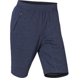 Short Sport Pilates Gym Douce homme 520 Long Slim Bleu